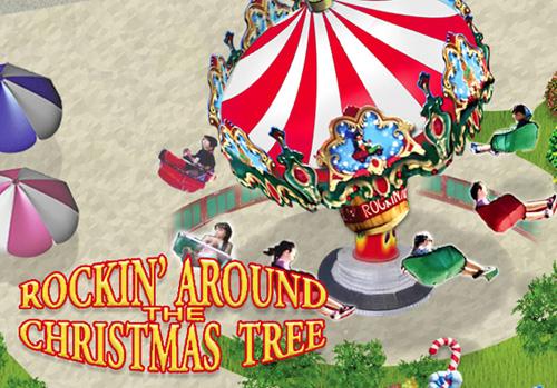 Rockin Around Christmas Tree Map View Santa S Village